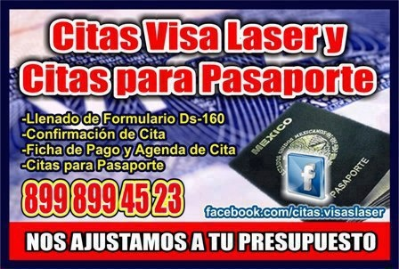 Citas Visa Laser y Citas para Pasaporte | TOL Reynosa