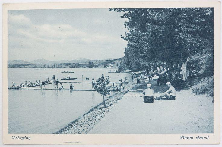 Zebegény, Dunai strand 1940. http://www.bedo.hu/kepek/adat/kepeslap/90/0825.JPG