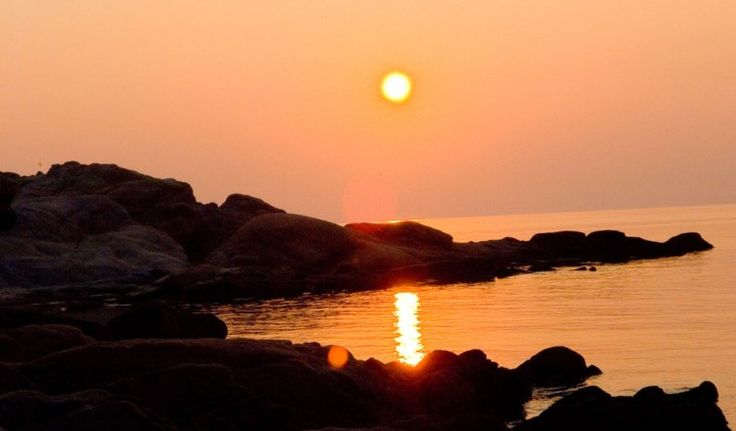 Sunset at #Sithonia #Halkidiki #Greece http://apartments-panagi.com