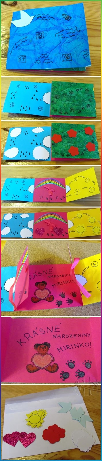 Birthday card for kids (countdown)