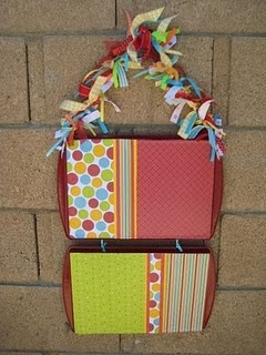 Cookie sheet magnet board-Craft Room Idea/Teacher's gift etc.--This is an even neater version of what will have in our kitchens one day @Emily Hall! ---Likely with different colors though! :)