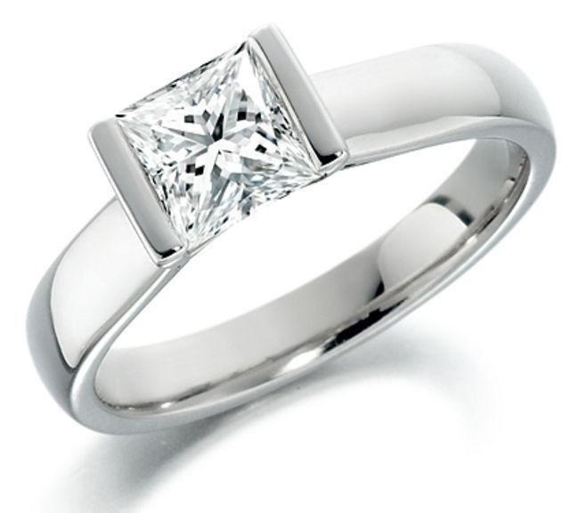 Wendy Manzo Jewellery. The Princess cut diamond rules!