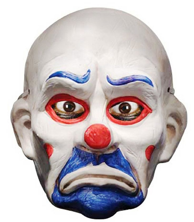 Batman Dark Knight Child Deluxe Joker Clown Mask