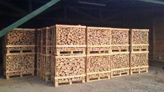 Piękne sezonowane drewno do kominka i na opał układane dostawa za darmo UWAGA 2 letni JESION !