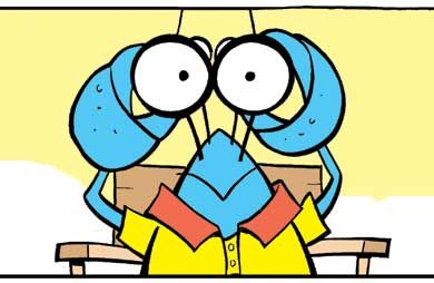 Bob the Crayfish is watching you! #crayfish #funny #comics http://www.swamp.com.au/search.php?s=s1616
