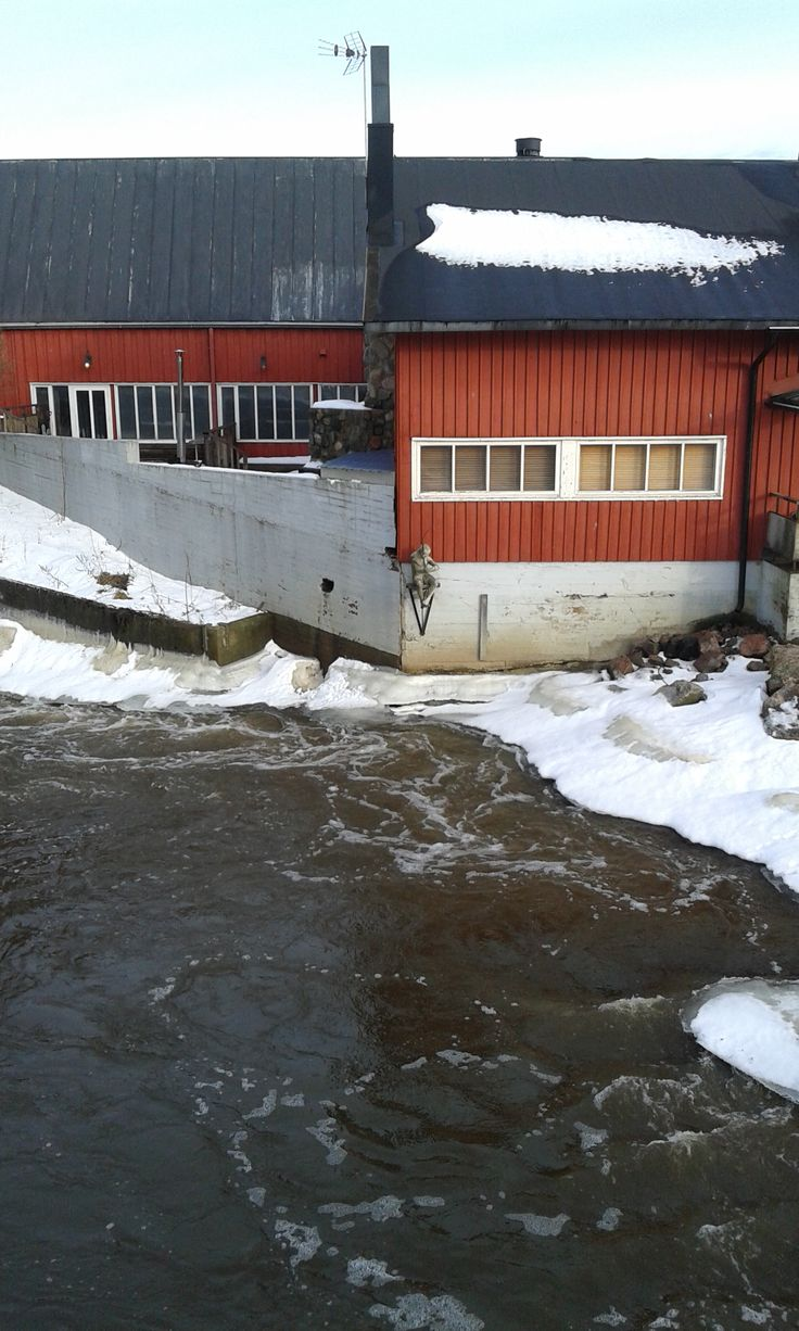 Vanhankaupunginkoski, Finland. February 2014