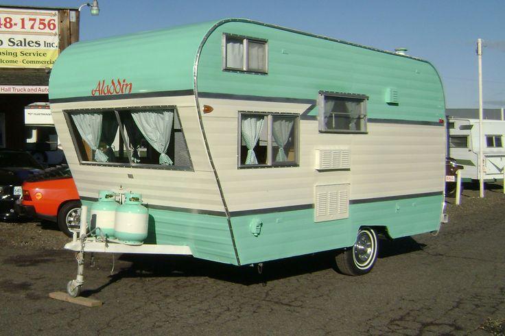 1966 ALADDIN SULTAN CASTLE travel trailer | vintage camper - caravan <O>                                                                                                                                                      More