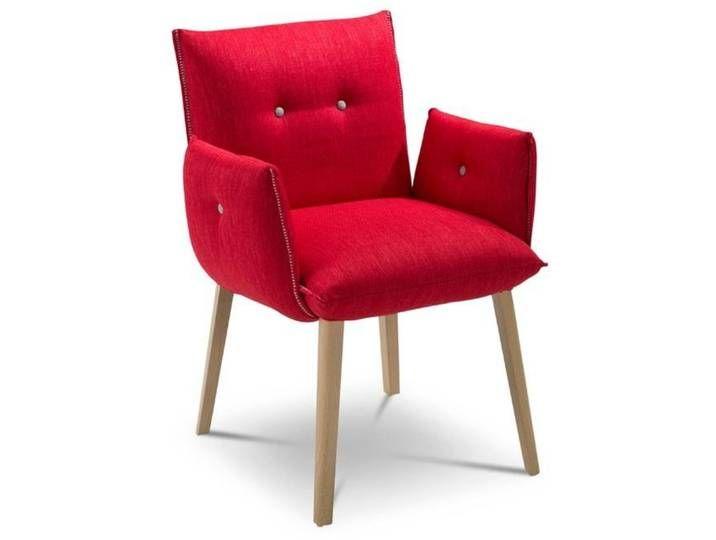 Mobitec Stuhl Soft Soda H47 A Rot Stoff Decor Furniture