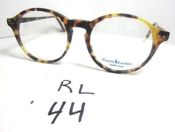 97e1e1931c Polo Ralph Lauren Vintage Eyeglasses Frames Tortoise Shell