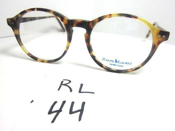 polo ralph lauren vintage eyeglasses frames tortoise shell round horn rim rl 44 glasses pinterest horns ralph lauren and polos