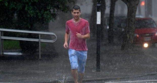Rige un alerta meteorológico con pronóstico de lluvias y tormentas hasta la noche – Panorama Rosario
