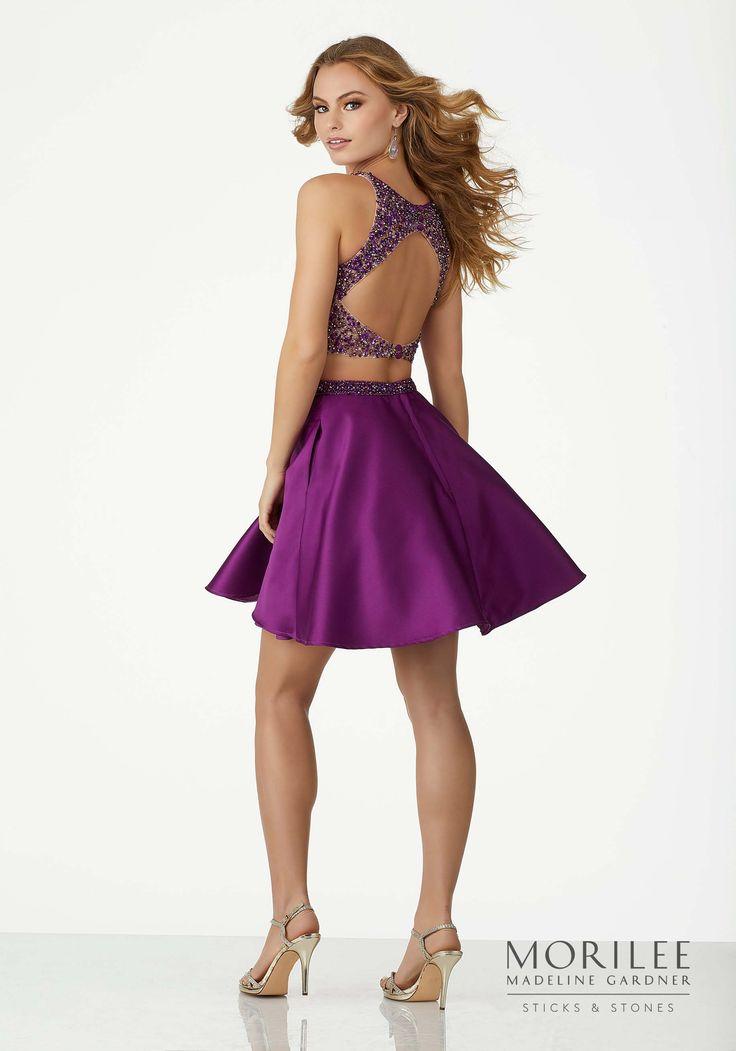 Mejores 193 imágenes de Morilee Fall \'17 | Party Dresses en ...