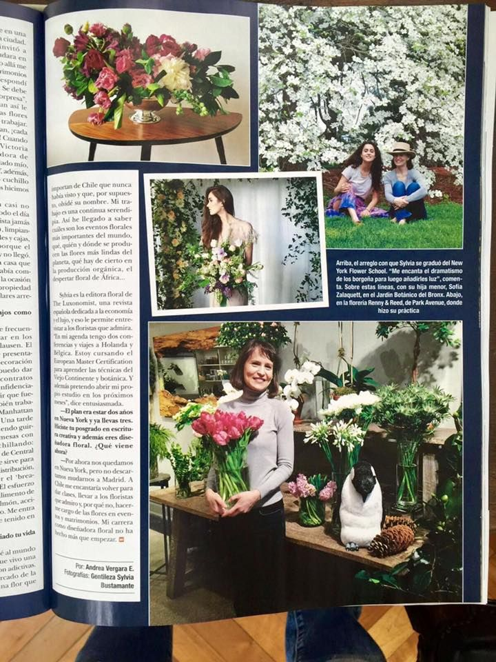 By Sylvia Bustamante Gubbins :Mi aventura en Nueva York publicada en la revista Hola! de Chile. Gracias querida Andrea!!