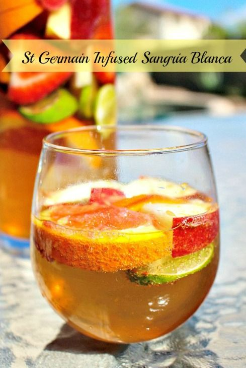 Sangria Blanca on Pinterest | Sangria, White Sangria and Cocktails