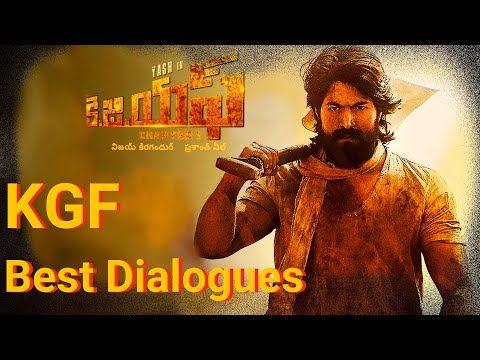 KGF Dialogues | Yash | Srinidhi Shetty | KOLAR GOLD FIELDS