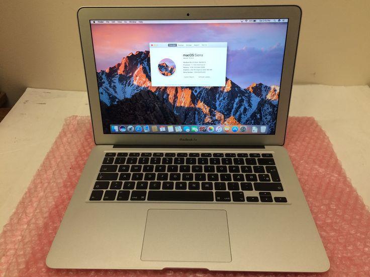 """Apple MacBook Air 4,2 13"""" Intel Core i5 @ 1.7GHz 128GB SSD 4GB RAM (Mid-2011)"""