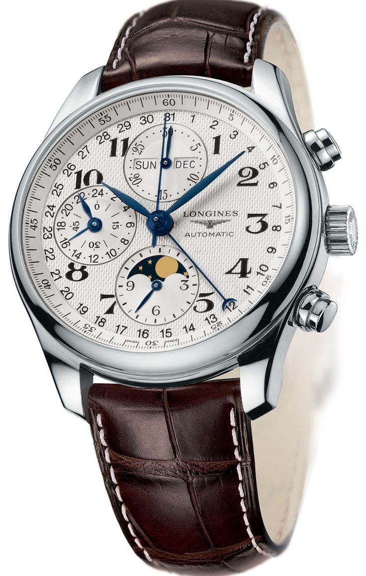 Longines Master Collection #luxurywatch #longines #chronograph longines chronograph Swiss Watchmakers Pilots Divers Racing watches #horlogerie @calibrelondon