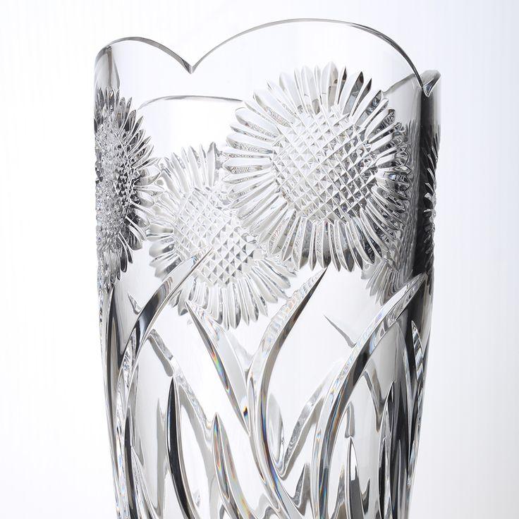 "10"" Sunflower Vase"