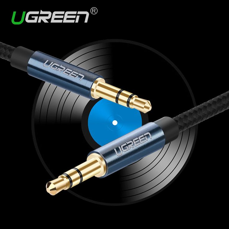 Ugreen New Aux Cable 3.5mm to 3.5 mm Jack Audio Cable Thread Bradied Male to Male  Stereo Auxiliary Cord for Phone Car Speaker * This is an AliExpress affiliate pin.  View the item in details on AliExpress website by clicking the VISIT button