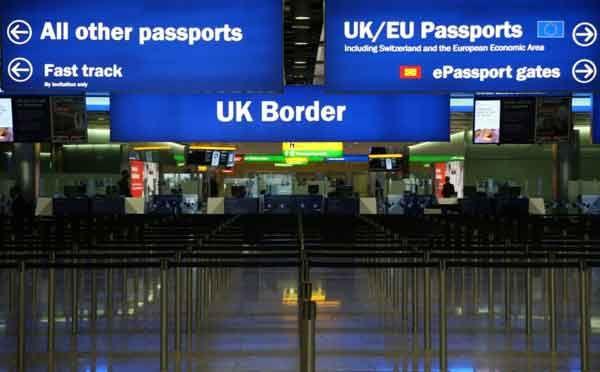 Imigratia neta in Marea Britanie a ajuns la un nivel record