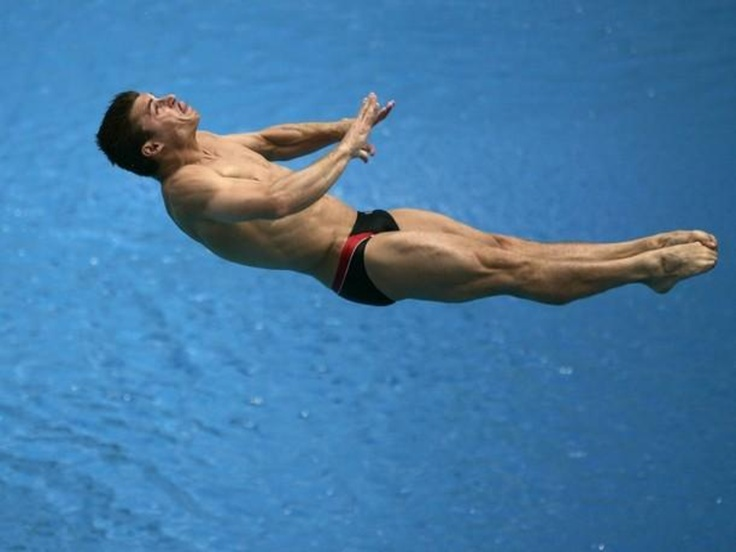 Troy Dumais, Diver and Member of Shaklee's Pure Performance Olympic Summer Team