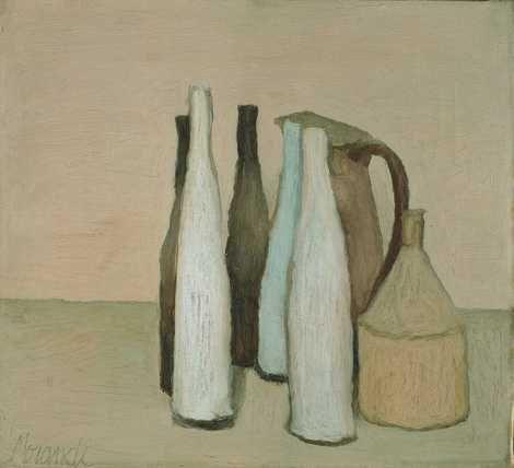 Giorgio Morandi, naturamorta on ArtStack #giorgio-morandi #art