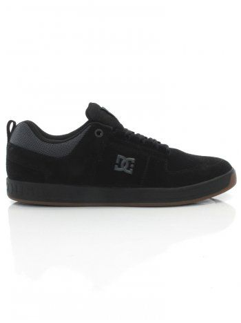 DC Lynx S Shoes - Black/Gum Decorative stitch is inspired by the original Lynx pattern Clean toe with no stitching to prevent tearing and blowouts Ortholite sockliner provides extra high-impact protection £45.00 Was £60.00
