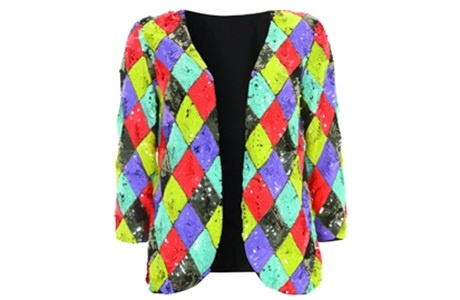Squin Jacket £200 Topshop at Bullring