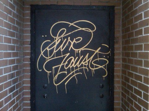 Any city that has such literate graffiti artists has got to be a cool place to visit...