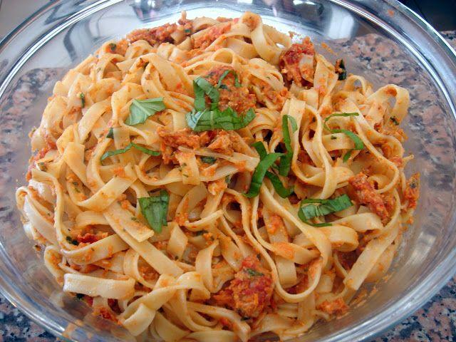 LA COCINA DE MARIANNE: pasta con tomates secos