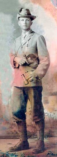 Danie Theron, Boer hero of the war with Great Britain.
