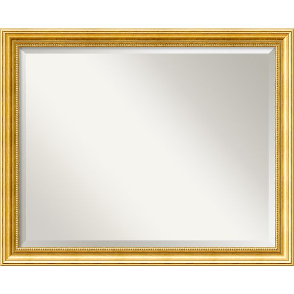 Townhouse Large Gold Wall Mirror - Overstock™ Shopping - Great Deals on Mirrors
