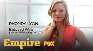 Why Did Rhonda Die? Is She Leaving Empire?  If you're like me then you're mad at Lee Daniels right now. Why did Rhonda Lyon have to die? Luckily she's not leaving Empire. She is listed as a special cast member for the show's third season. As you know her husband Andre Lyon has mental health issues. Last season him and Rhonda's unborn baby died.  Andre had just begun recovering from losing his unborn child and now he has lost his wife. This could be a karma lesson from Lee Daniels. Rhonda…