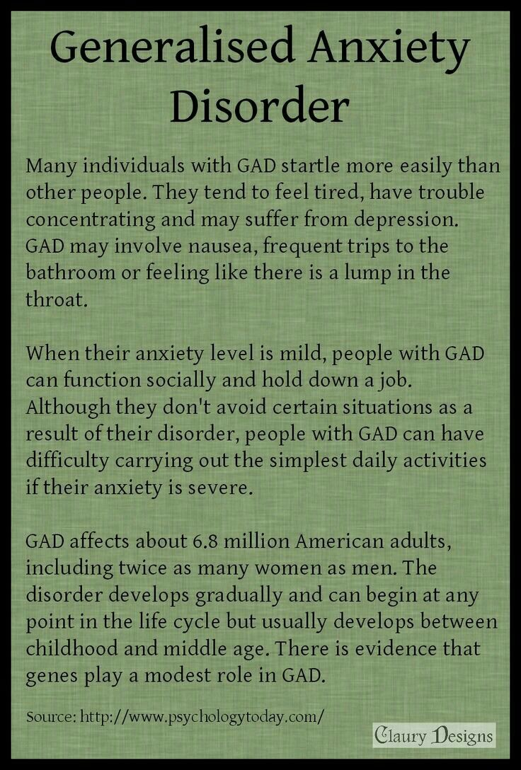 Please note that symptoms such as this may not be due to anxiety especially  if they suddenly develop for no reason you are aware of.