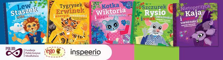 Uważnosć dla dzieci | MBSR | Kraina Uważności - książki dla najmłodszych