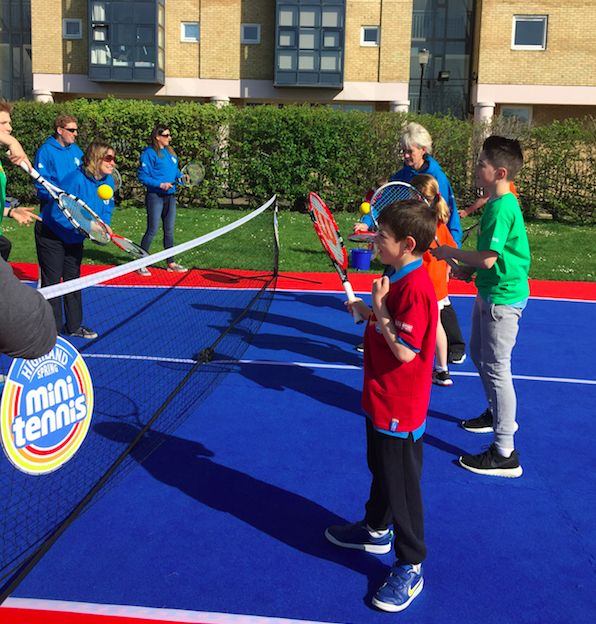 Next lesson with Judy Murray: volleying!