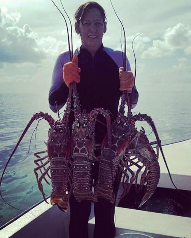 SPANISH WELLS BAHAMAS LOBSTER! Have you ever caught something like this? #fishing http://bit.ly/2dXaPAY http://bit.ly/2ffOhuG