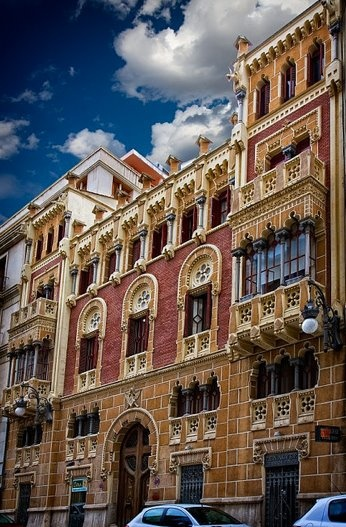 Moorish architecture in Valencia, Spain