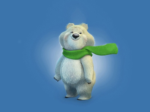 Official Sochi 2014 Olympic Winter Games Mascots - Polar Bear