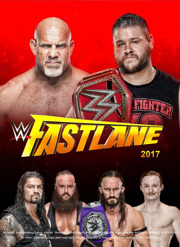 WWE Fastlane 2017 Poster V3 by edaba7.deviantart.com on @DeviantArt