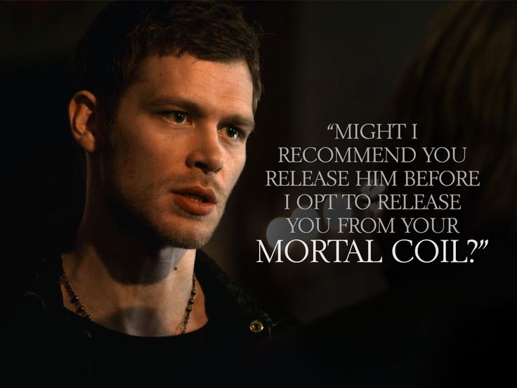 vampire diaries love quotes klaus - photo #14