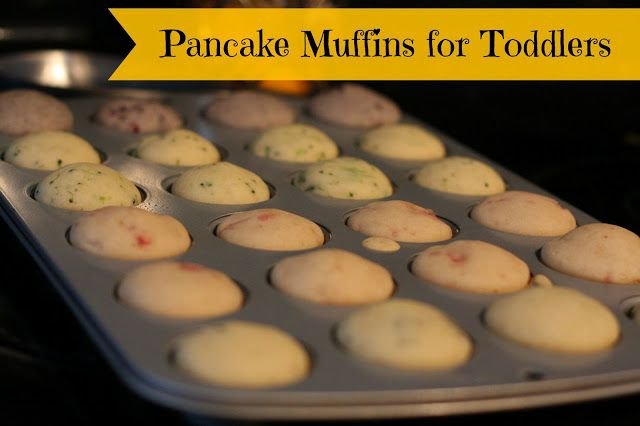 Pancake Muffins for Toddlers