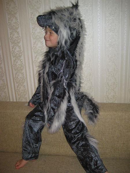 Новогодние костюмы волка для детей