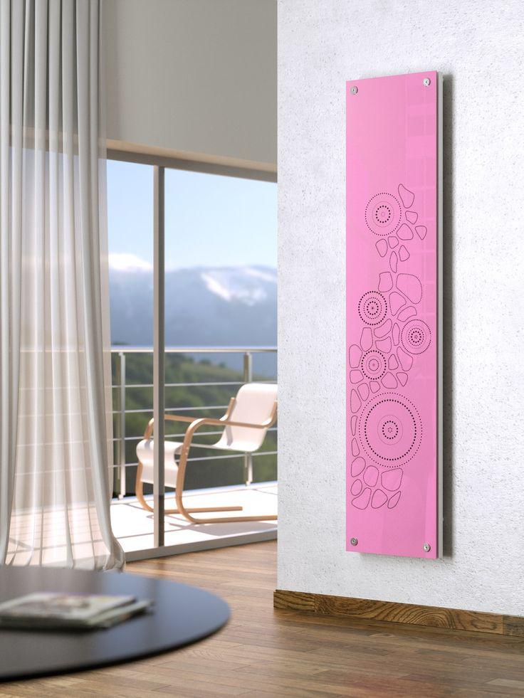 Radiateur décoratif en acier et verre NEW DRESS by SCIROCCO H design…