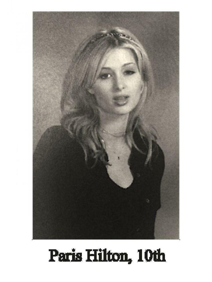 Nicki Minaj Yearbook Picture   paris hilton nicki minaj yearbook