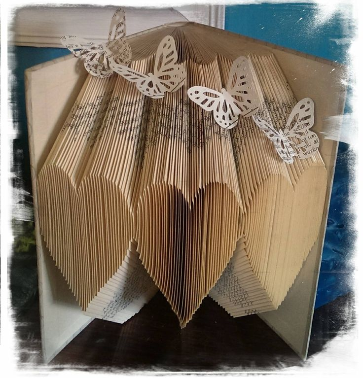 How To Make A Book Cover With Gift Wrap : Best ideas about book folding on pinterest folded