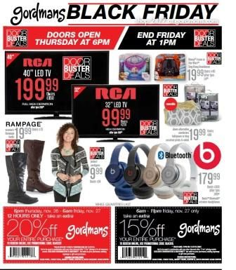 Complete Coverage of Gordmans Black Friday 2015 Ads & Gordmans Black Friday deals info.