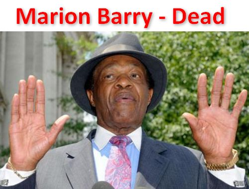 """Marion Barry - former Mayor of DC... dead. Who now will drool out such great quotes as """"If you take out the killings, Washington actually has a very very low crime rate."""" Joe 'Boner' Biden will need to step up (or down) his game... -------> The Secret To Becoming A Deadly Accurate Shooter - http://info-hog.com/I/go/DeadlyShooter/"""