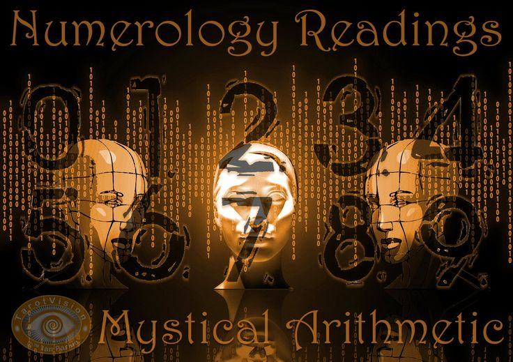 Discover the mystical arithmetic in a numerology reading.