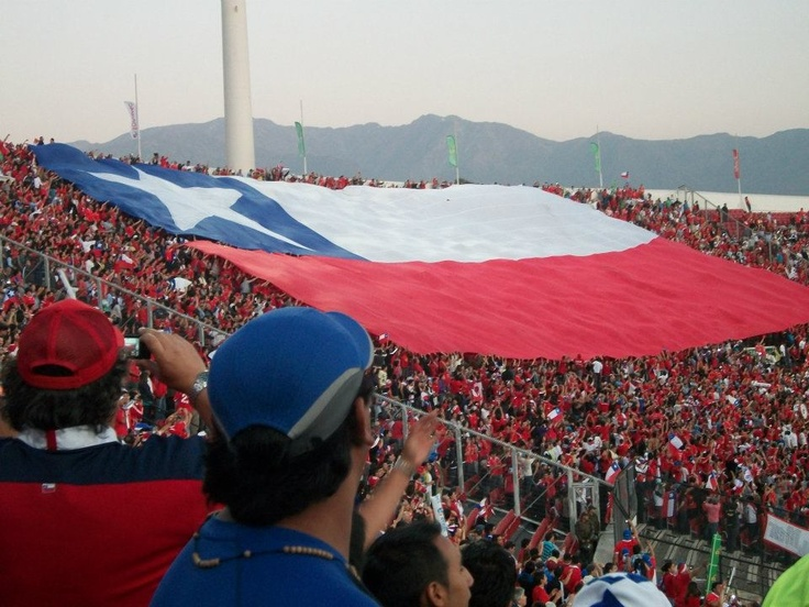 Chile vs Uruguay soccer game #pinChile #sports
